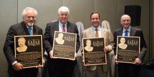 John Romano receives Jon E. Krupnick Award